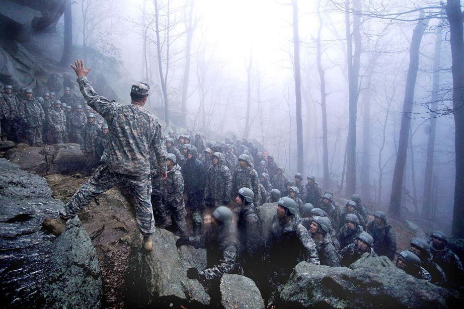 The true test of leadership in the mountain phase. Photo: Public Domain