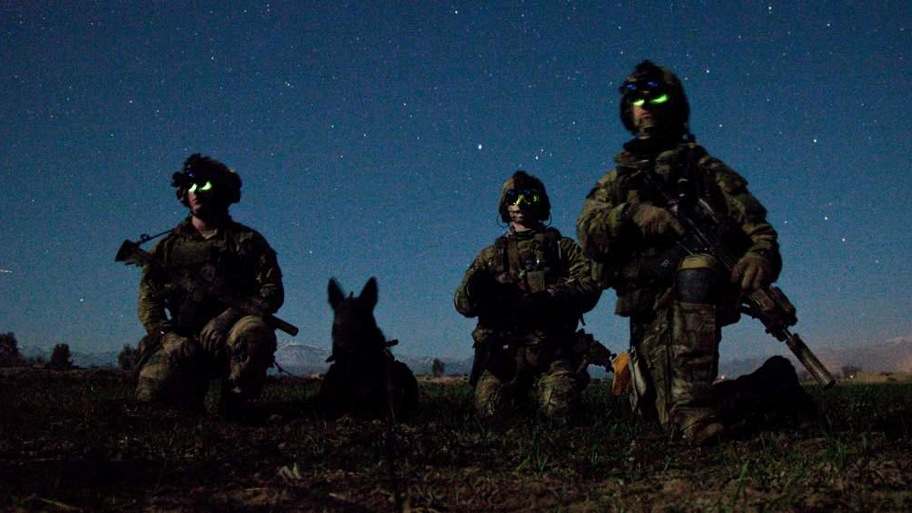 75th Ranger Regiment Canine