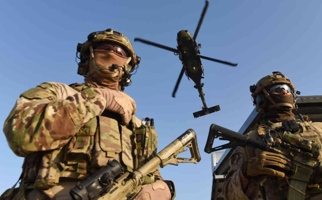2nd Commando Regiment soldiers must be ready to deploy anywhere.