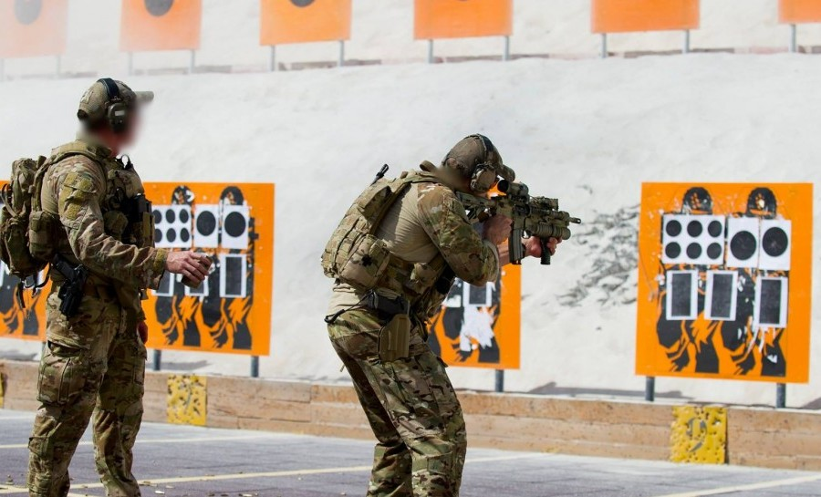 Special Forces Soldiers Spend A Lot of Time On The Range.