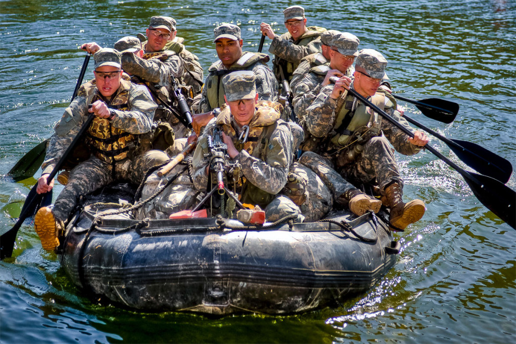 Swamp phase puts ranger students to the test.