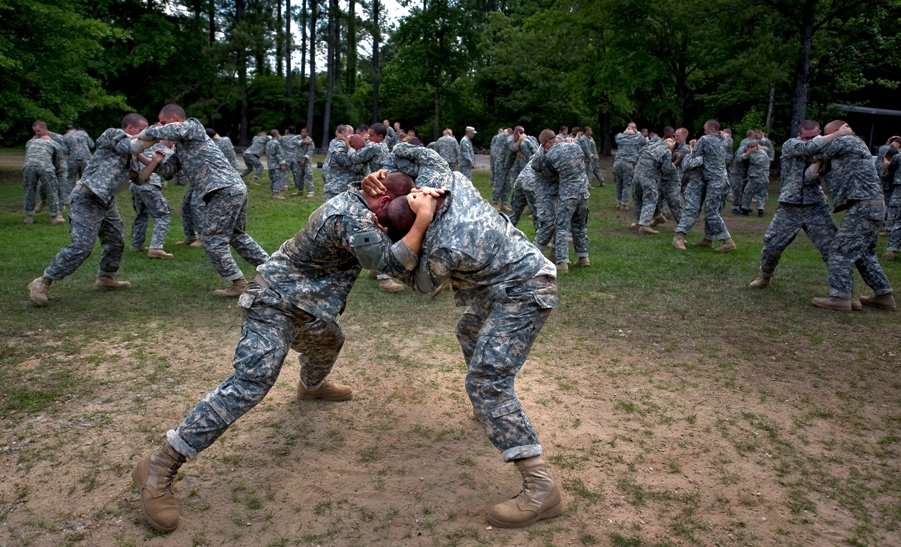 Rangers are trained in unarmed combat. Photo:  Public Domain
