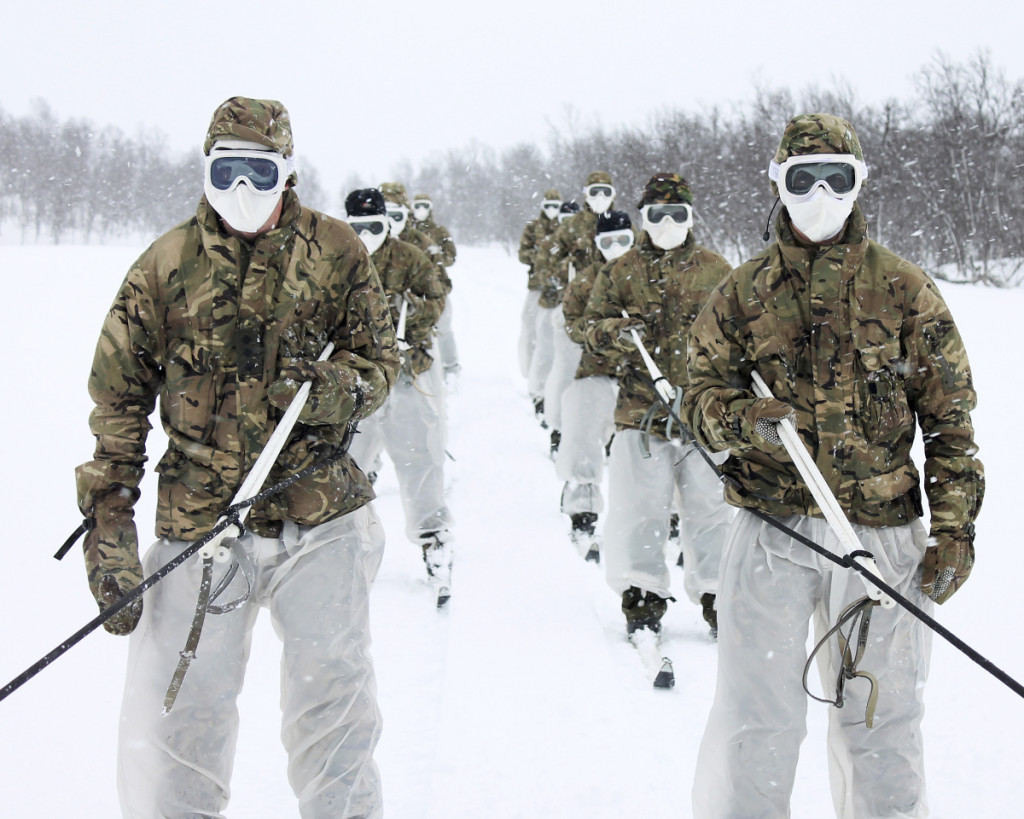 Norway Soldiers Arctic Training