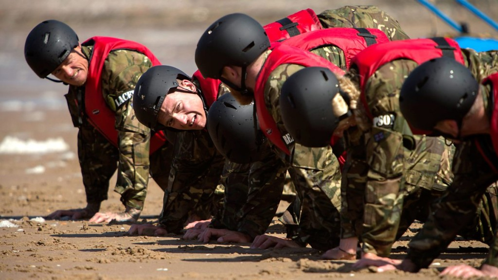 Everyday UK Civilians vs Navy SEAls Photo: BBC