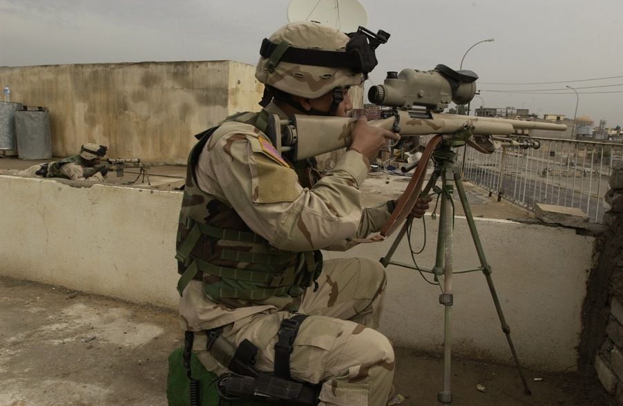 Snipers can change the course of a battle Photo: Public Domain