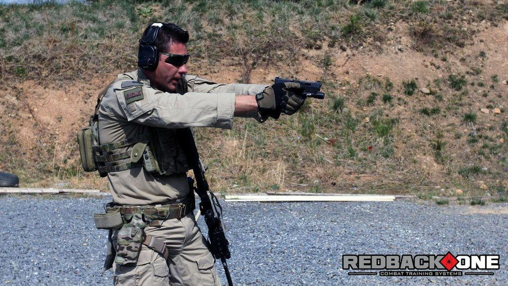 Former SASR - Jason Falla Photo Redback One