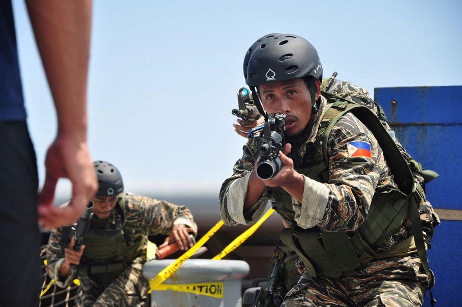 Philippines NAVSOG conducting operational exercises Photo: Public Domain