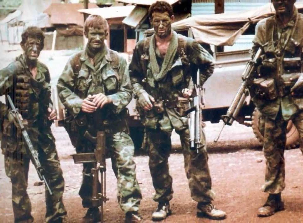 LRRP Patrol In Vietnam