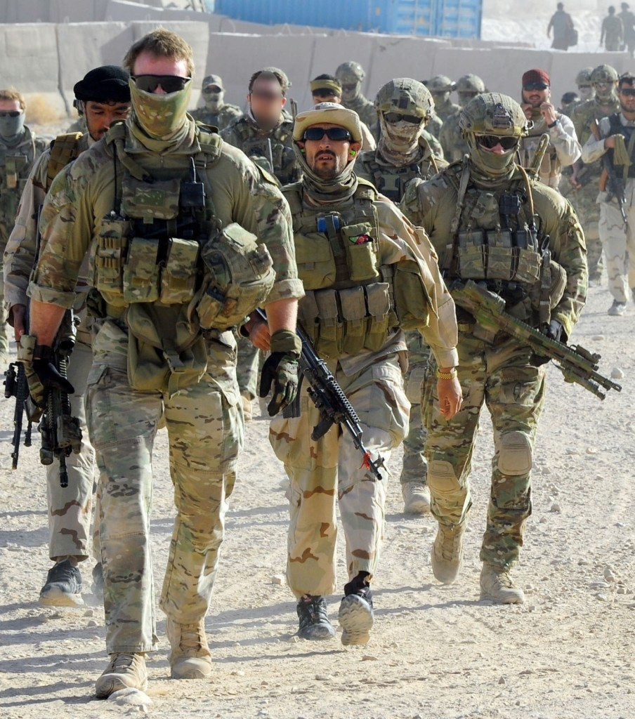 SASR played a big role in Afghanistan