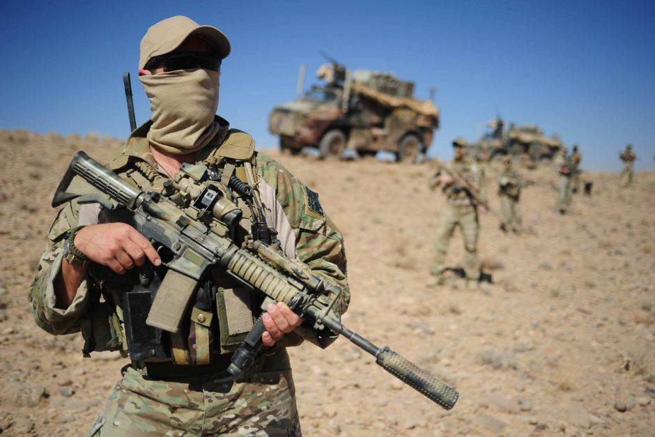 2nd Commando Regiment in Afghanistan