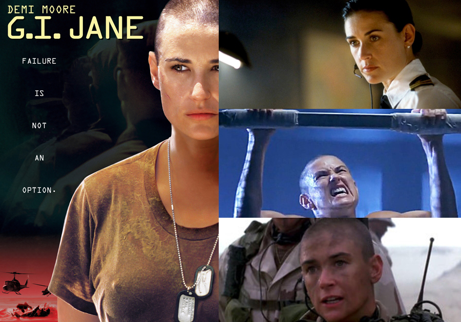 Demi Moore In SEAL Movie GI Jane
