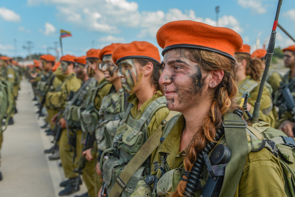 IDF Females as part of Search and Rescue