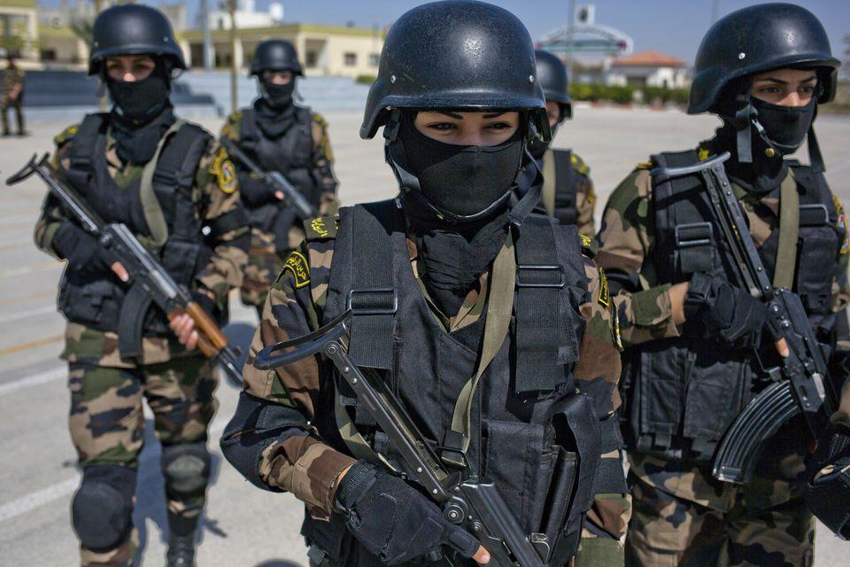 Women In The Palestine Commandos