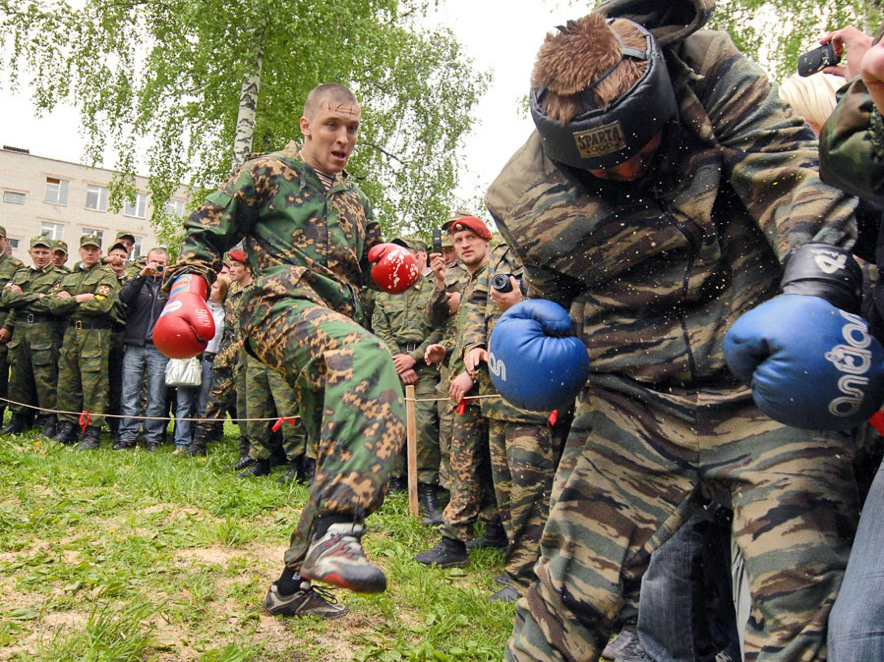 12 minutes of hell in hand to hand combat. Source: Sergey Shapran