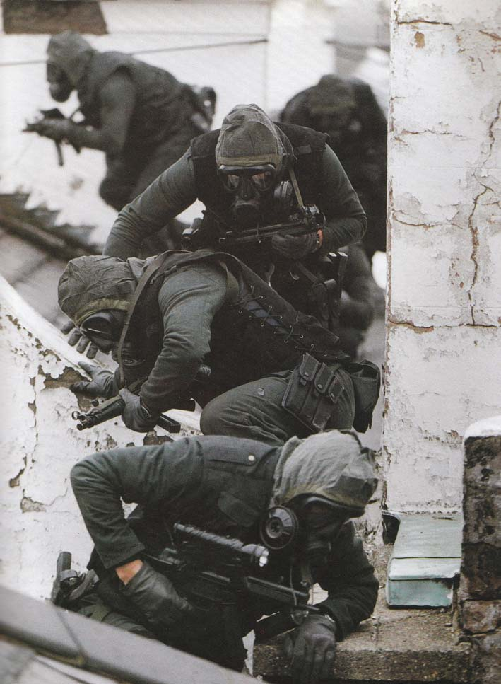 Special Air Service Troopers On The Embassy Roof (Public Domain)