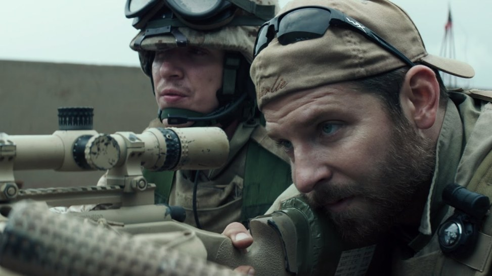 Actor Bradley Cooper played Chris Kyle