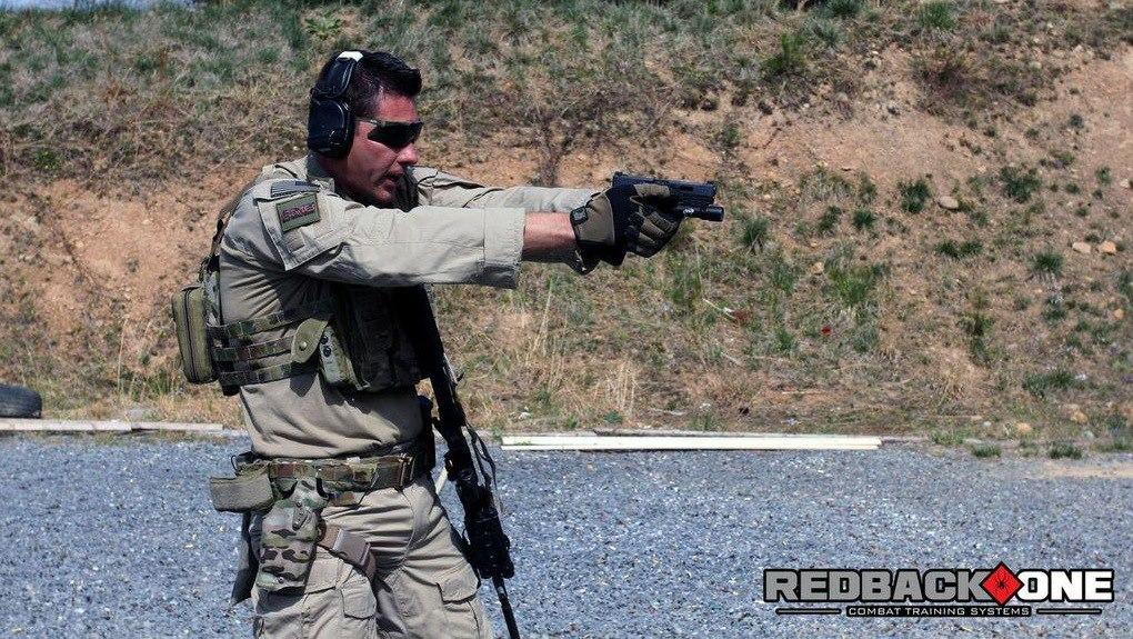 Former SASR - Jason Falla Photo Redback One